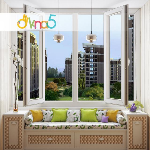 Купить лоджия/2ст- rehau60 - киев - строим дом.